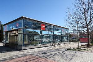 Manoteras (Madrid Metro) - Image: Estación de Manoteras