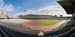 The Estadi Olímpic Lluís Companys