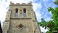 Eton, stary kościół parafialny. Widok wieży kościoła - panoramio.jpg