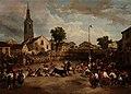 Eugenio Lucas Velázquez - Gran corrida de toros y cucaña.jpg