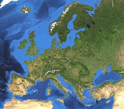 karta över bergskedjor i europa Europa – Wikipedia karta över bergskedjor i europa