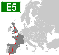 European route E5.png