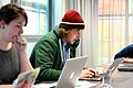Europeana Sounds Edit-a-Thon 1- Participants Editing Wikipedia - 16075066410.jpg