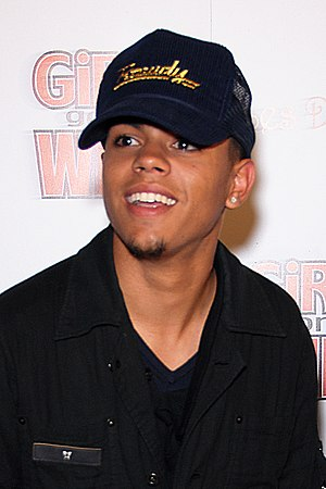 Evan Ross attending the second issue release o...