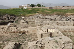 Ecbatana - Excavations in Ecbatana (Tell Hagmatana)