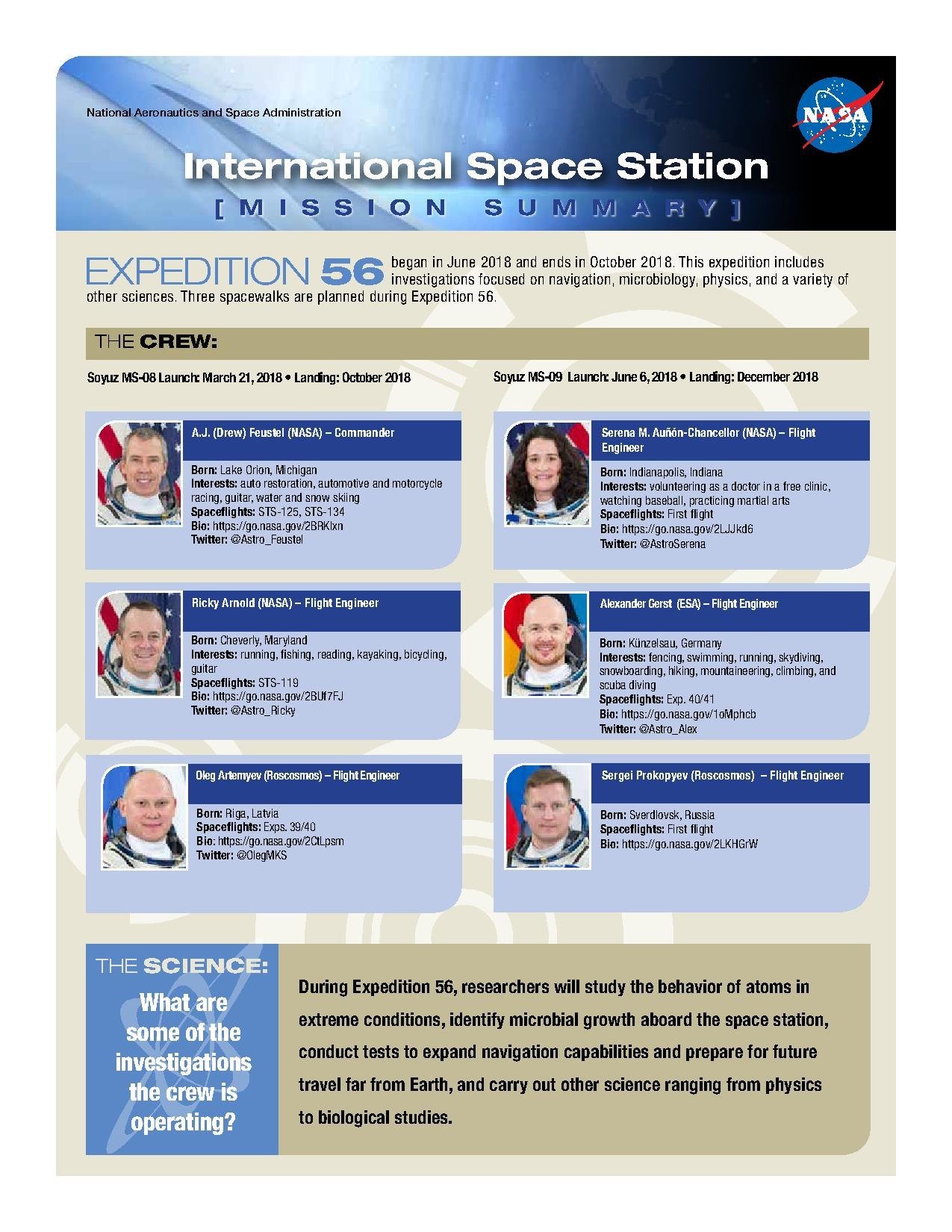 File:Expedition 56 - Mission Summary pdf - Wikimedia Commons