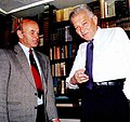 Ezer with Yona Shamir 1994.jpg