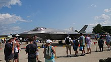 The F-35 Lightning II at EAA AirVenture Oshkosh 2019