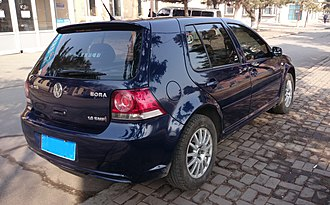 Volkswagen Bora (China) - Volkswagen Bora HS rear