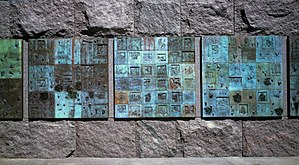 Robert Graham (sculptor) - Social Programs (1997), bronze, Franklin Delano Roosevelt Memorial, Washington, D.C.