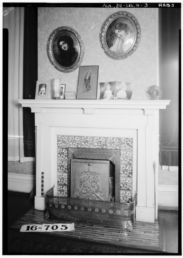 File:FIREPLACE AND MANTEL (LIVING ROOM) - A. T. Mabry ...