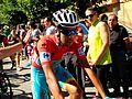 Fabio Aru Red Jersey - Vuelta a España 2015 (cropped).JPG