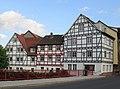 Fachwerk Gebäudeensemble an der ersten Werrabrücke - Eschwege Brückenstraße - panoramio.jpg