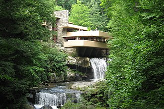 Western Pennsylvania Conservancy - Fallingwater, maintained and preserved by the Western Pennsylvania Conservancy, is open to visitors.