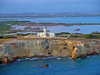 Faro Los Morrillos de Cabo Rojo - Image: Faro de Los Morrillos, Cabo Rojo