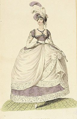 Fashion Plate (Court Dress) LACMA M.83.161.267