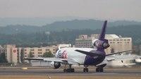 File:FedEx N303FE MD-10-30 (DC-10) Takeoff Portland Airport (PDX).ogv