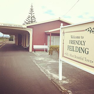 Feilding railway station