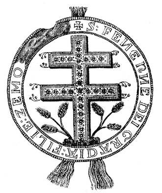 Fenenna of Kuyavia - Fenenna's seal as Queen of Hungary, dated 1291.