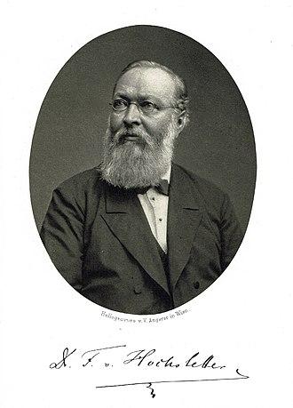 Esslingen am Neckar - Ferdinand von Hochstetter