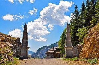 Old Loiblpass towards Slovenia