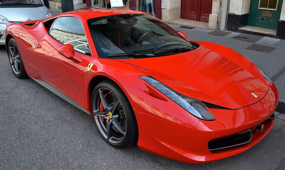ferrari 458 wikipedia - Ferrari Italia 458
