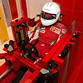 Ferrari Drivers Training Machine driver-left Museo Ferrari.jpg
