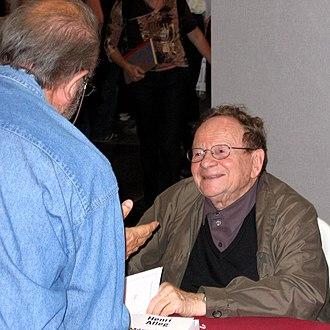 Henri Alleg - Henri Alleg at the Fête de l'Humanité in 2008.