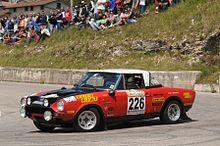 Fiat 124 Abarth Rally Wikipedia