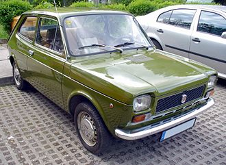 Fiat 127 - Image: Fiat 127 green