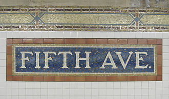Fifth Avenue–59th Street (BMT Broadway Line) - Mosaics