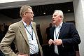 Finlands statsminister Matti Vanhanen samtalar med Nordiska ministerradets generalsekreterare Halldor Asgrimsson pa Nordiskt globaliseringsforum 2010.jpg