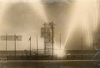 Tailteann Games (ancient) - Fireworks at the first Games, August 15, 1924