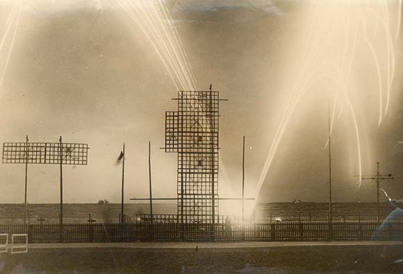 File:Fireworks at the First Tailteann Games August 15, 1924.jpg