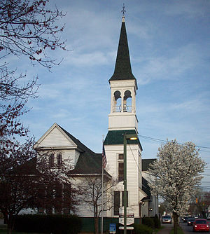 Photo of the First Congregational Church of Ce...
