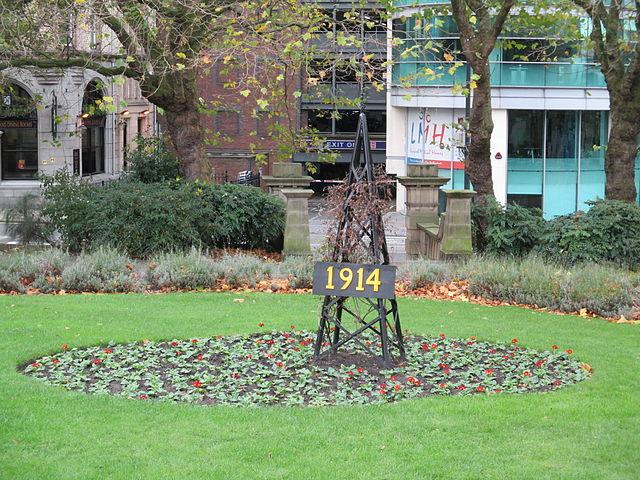 File:First World War centenary memorial, St John\'s Gardens ...