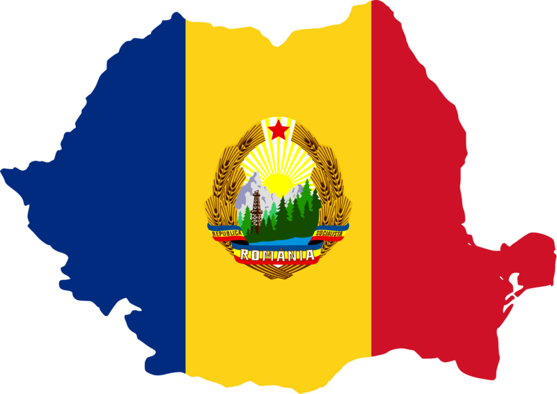 File:Flag-map of Communist Romania.png