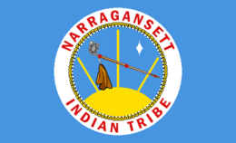 Flag of the Narragansett Indian Tribe.PNG