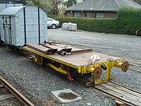 Flat Wagon on Talyllyn Railway - 2008-03-18.jpg