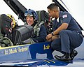 Flickr - Official U.S. Navy Imagery - Sgt. Maj. of the Marine Corps talks with a Sailor prior to his flight in a jet..jpg