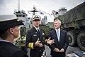 Flickr - Official U.S. Navy Imagery - The CNO and SECNAV speak to Irish media..jpg