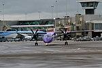 Flybe, G-PRPL, Bombardier Dash 8 Q400 (28476249595).jpg