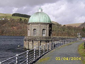 Birmingham Corporation Water Department - Foel Tower in the Elan Valley