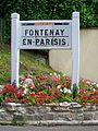 Fontenay-en-Parisis (95), vieille plaque Michelin, route de Mareil - rue de l'Échelette.jpg