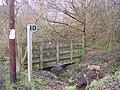 Footbridge near Free Heath Road - geograph.org.uk - 1658728.jpg