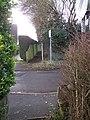 Footpath across Amsbury Road - geograph.org.uk - 1196127.jpg