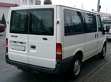 76d00da3ea Ford Transit pre-facelift