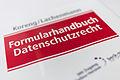 Formularhandbuch Datenschutzrecht, Umschlag, 151224, ako.jpg