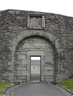 Fort Charlotte, Shetland - Fort Charlotte, Lerwick, Shetland, Scotland - south gate
