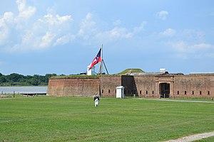 Edward Clifford Anderson, SR - Image: Fort James Jackson Ext
